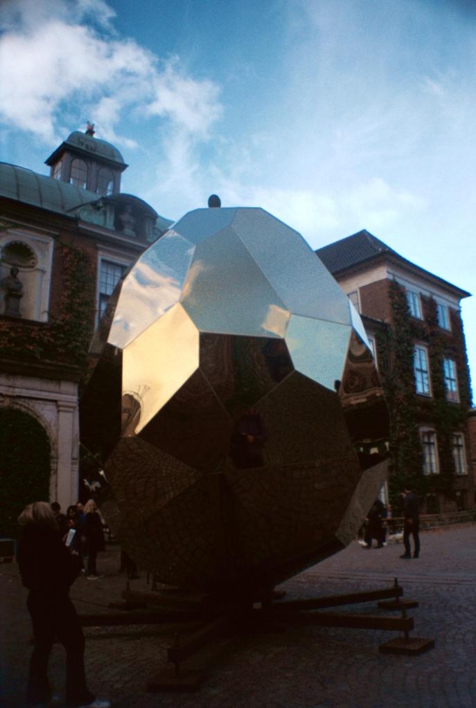 Solar Egg Popup Art Sauna Charlottenborg Kunst København Copenhagen Copenhej