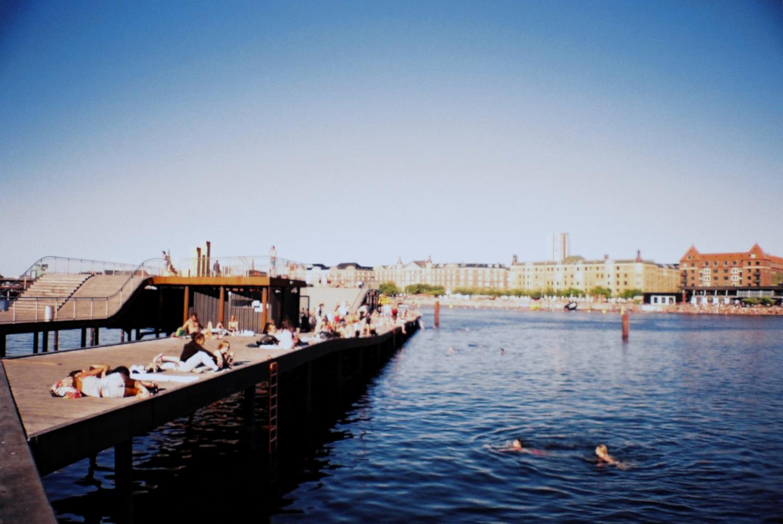 Bathing spot Badested Kalvebod Brygge Bølge Sea Swimming Harbor Kayak SUP Summer Havn København Copenhagen Copenhej