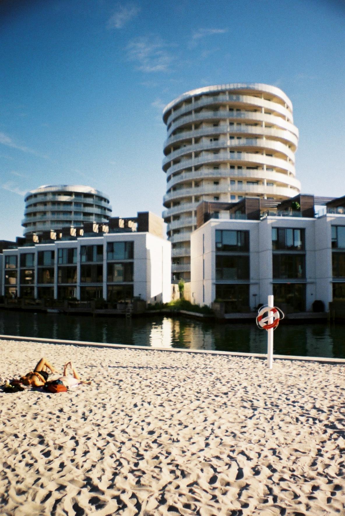 Havnevigen Strand Beach Amager Fælled Havnestaden Sandstrand København Copenhagen Copenhej