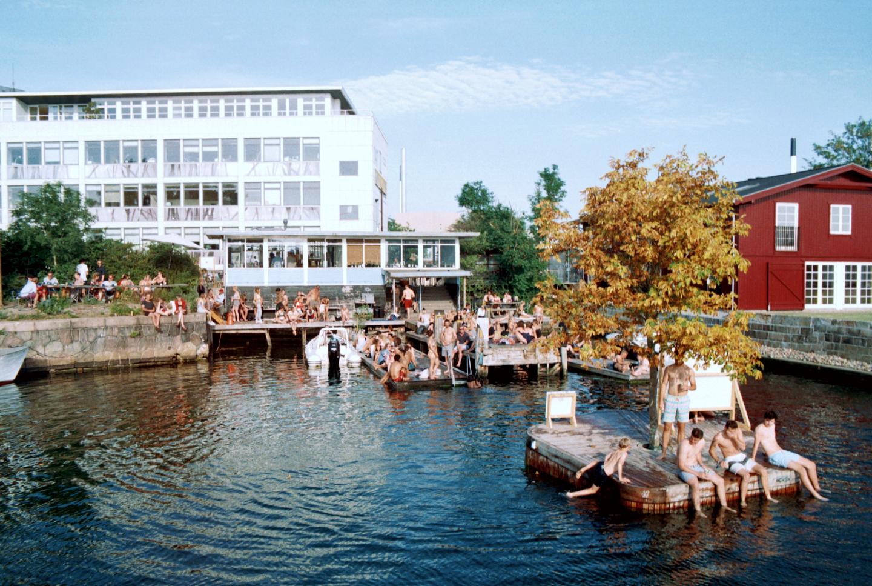 La Banchnia Bar Restaurant Badebro Naturvin Summer Badested Sauna Swimming Hotspot Refshaleøen København Copenhagen Copenhej
