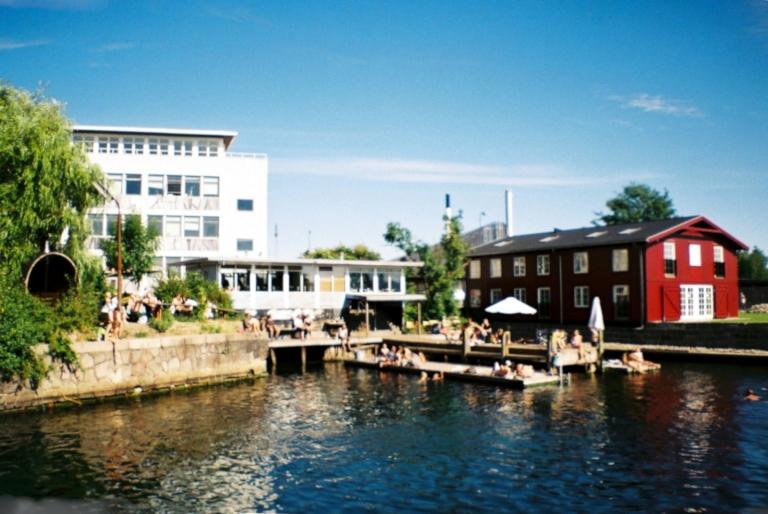 Københavns bedste sauna & saunagus. La Banchina sauna tønde vinterbad winterbathing Refshaleøen