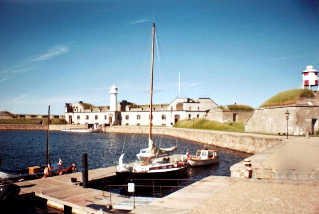 Trekroner Fort Sea Fortress Harbor Jetty København Copenhagen Copenhej