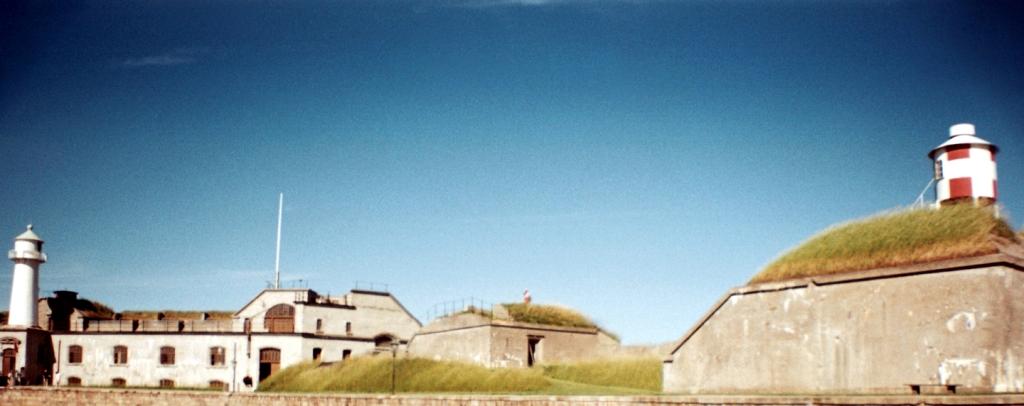 Trekroner Fort Sea Fortress Harbor København Copenhagen Copenhej